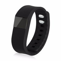 Wholesale Smart Watch Bulk - 2016 Rushed New All Compatible Red Smart Sport Tw64 Bracelet Wristband Watch Fitness Tracker Sillicon Fitbit Bulk Usb Flex for Ios Android