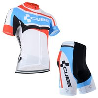 Wholesale Racing Bike Cube - Pro Cube Team Jersey Cycling Clothing Ropa Ciclismo Racing Bike Cycling Jersey Mountain Bicycle clothes quick dry mtb bike Wear C3004