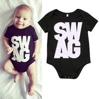 Wholesale Vintage Baby Boys Clothes - newborn baby boy gentleman clothes organic personalized sleep romper pajamas vintage bodysuit 12 months infant short sleeve outfit one-piece
