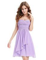 Wholesale Ever Pretty - Best Selling Bridesmaid Dresses Ever Pretty Wedding Blue Sweetheart Neckline Strapless Short 2017 vestidos Women Dresses