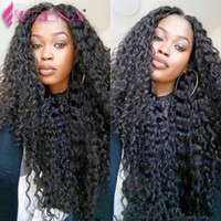 Wholesale Cheap Brazilian Deep Curl - 3Bundles 100g pcs Deep Curly Wave Brazilian Peruvian Malaysian Virgin Hair Weave Cheap Deep Curl Remy Brazilian Human Hair Extensions