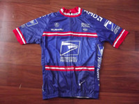 Wholesale B16 Sleeves - 2017 USPS US Postal cycling Jersey breathable cycling jerseys Short sleeve summer quick dry cloth MTB Ropa Ciclismo B16