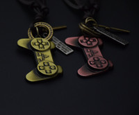Wholesale Cool Wheels - Cool men necklace video game manipulator pendant steering wheel adjustable jewelry popular holiday gifts the Rock style necklaces promotion