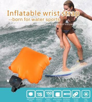 Anti Drowning Bracelet Swim Surf Outdoor Water Wrist Self Rescue Float Wristband With Co2 Cylinder Lifesaving Bracelet CCA6681 20шт.