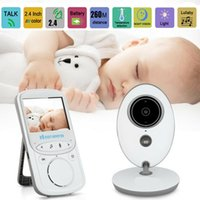 Xuanermei senza fili dell'audio dell'affissione a cristalli liquidi Video Baby Monitor VB605 Radio Nanny Music Intercom IR 24h portatile Baby Baby Camera Walkie Talkie + TB88