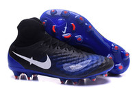 Wholesale Lawn Signs - Cheap! New Magista Obra II FG Football Shoes Men's Soccer Boots Mens Cleats ACC Sign Training Sneakers Send Box+Sports Shoes Bag Free Ship