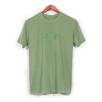 erkekler logosu t gömlekleri toptan satış-19ss ABD Moda Yüksek Kaliteli Yaz Kutusu Logosu Klasik Tee Yeni renk Kaykay Erkek tasarımcı t shirt Kadın Sokak Lüks Rahat T-shirt