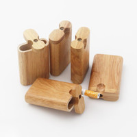 Wholesale Natural Smell - Real wood of wood dugout, will make your tobacco keep natural herbal smell. Note: only use leftover material production.