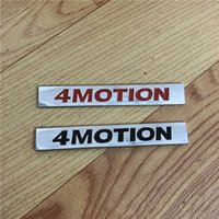 Car Styling 4 Motion Logo Tronco Posteriore Badge Emblema 4MOTION per VW Golf 4 6 7 Polo Passat B5 B6 Tiguan Touran Bora