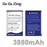 Wholesale Huawei A199 Battery - Da Da Xiong 3850mAh HB505076RBC Battery for Huawei A199 G700 G710 Y600 C8815 G610 G610T G610S G716 G606