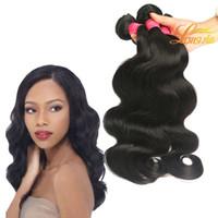 лучшие человеческие волосы бразильские монгольские оптовых-Бразильские выдвижения человеческих волос 8A малазийский перуанский монгольский камбоджийский Unprocessed прямые волосы пачки Dyeable самое лучшее качество Weave волос