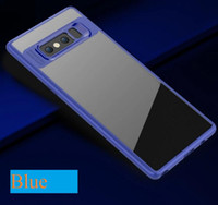 Wholesale Galaxy Note Colors - For Samsung Galaxy S8 S8 plus Note 8 Case Leather Case PU Business Phone Cases Full Package Soft 5 Colors DHL free