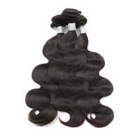 Wholesale Buy Human Hairs Colors - Brazilian Virgin Hair Body Wave Kinky Curly Straight Hair Bundles 100% Human Hair Weaves Natural Color 8-26 Inch Can Buy 3 4 Bundles