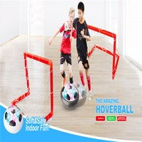 Wholesale Air Power Soccer Ball Disc Indoor Football Toy Multi surface Hovering and Gliding Toy