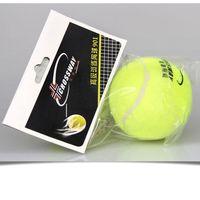 Wholesale Tennis Balls Elastic - Wholesale- CROSSWAY 3pcs tennis ball fitnee tennis training competition ball junior high resistance play high elastic practice ball 901