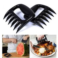 Wholesale Bbq Sets - 2PCS Set Home Kitchen Blacks Meat Claws Shredder Chicken Separator Easy Clean Use Kitchen BBQ Barbecue Cooking Tools Bear Claws X024-1
