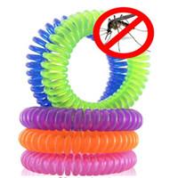 natürliches abwehrmittel für mücken großhandel-100 teile / los Natürliche Mückenschutz Armband für Kinder, Kleinkind Erwachsene - Ungiftig Reisegröße Mückenschutz Wristban