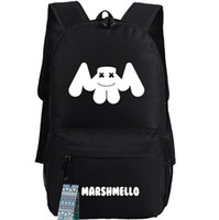 Wholesale Music Bowl - Marshmello backpack Super star Dotcom school bag Trap DJ daypack Music schoolbag Outdoor rucksack Sport day pack