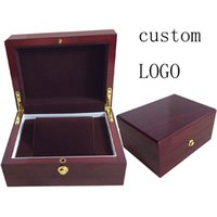 Wholesale Velvet Box Price - Luxury Packaging Boxes professional custom new design high grade outter wooden inner brown velvet watch box for watch seller wholesale price