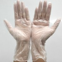 Wholesale Medical Gloves Wholesalers - Disposable PVC Gloves Oil And Acid Resistant Food Grade Cleaning Glove Dental Medical Rubber Plastic Beauty Hand Membrane Cover 0 2tn D R