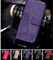 Wholesale Slim Card Mobile - High end Holster Pouch Leather PU For iphone 6S Plus Samsung S8 Card pocket Mobile Cell Phone Cases Covers Slim Retro luxury 6s Case