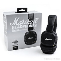 Wholesale Beat Phones - Marshall Major II 2.0 Bluetooth Wireless Headphones DJ Studio Beat Headphone Deep Super Bass Noise Isolating Headset for iPhone Samsung