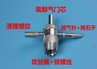 Wholesale Gas Conditioning - Automobile tire air conditioning valve core wrench multifunctional valve wrench security gas automobile special maintenance tool