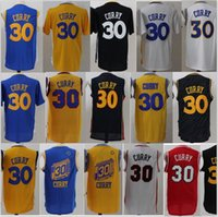 Cheap Men CURRY # 30 collégie Jerseys Throwback Classic Sport actuel Vêtement Adulte Garçon Chemises Maillots cousés Haut Quanlity Mix Order