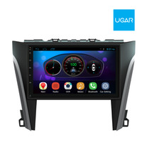 Wholesale radio camry resale online - 10 inch Toyota Camry Quad Core Android Car GPS Navigation and Multimedia Player Radio Wifi