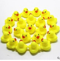 Wholesale Cheap Kids Toys For Sale - Cheap Mini Yellow Rubber Ducks Baby Bath Water Toys for sale Kids Bath PVC Duck with sound Floating Duck wholesale