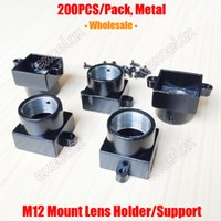 space cctv - Pack Metal M12 Lens Mount CCTV Camera Module Board Lens Holder Bracket Support Connector Adapter Screw Spacing