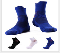 Wholesale Usa Arts - Discount USA Professional Elite Basketball Socks Ankle Athletic Sport Socks Men Fashion Compression Anti Slip Thermal Winter Socks
