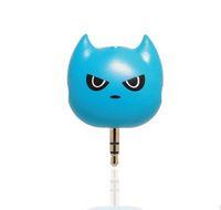 кошка mp4 оптовых-space man cat Audio Splitter 3 порта 3.5 мм стерео аудио гарнитура b Splitter для телефона аудио оборудование iPod MP3 Mp4