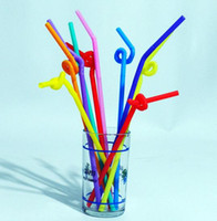 Wholesale Flexible Ice - New Arrival 100PCS Food Grade PP Plastic Flexible Ice Tea Bar Party Disposable Drinking Drink Straws Bendable Multicolor