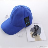 Wholesale Ear Cap For Cellphone - Music peaked Cap Bluetooth3.0 Hat Fashion Sport Desgin Wireless Headphone Support Phone call Mic Handfree Headset for Cellphone