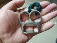 Wholesale Stainless Steel Punch - Stainless Steel EDC Handemade Tiger Finger   Punch   Knuckle Duster 62mm*60mm*14mm Mirror Polished Surface Treatment 140g pc