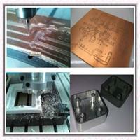 Wholesale Cnc Engraving Machinery - aman machinery high quality 6040 CH80 1500w soft metals plastics woodworking plastic cnc mini engraving machine