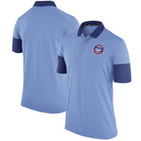 Short Sleeve order of service - new styles of Men s Chicago Cubs Royal Polo shirt accept any size and mix order best service for you