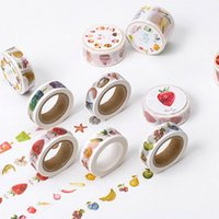Wholesale Food Photos - 1x twilight food series washi tape photo album Scrapbook Adhesive decorative DIY Handmade Gift Card Scrapbooking Arts crafts-2016