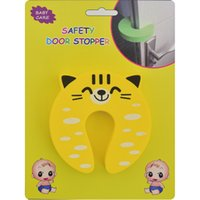 Wholesale Baby Finger Door Stoppers - 1 Pc Animal Cartoon Baby Door stopper Safety Guard Finger Protection