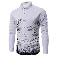 Wholesale Mandarin Dress Long Sleeved - Wholesale- Plus size brand clothing 2017 New spring cotton men's long-sleeved shirt camisas Business casual fashion Slim shirt XXXL