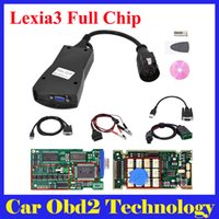 Wholesale Diagbox Citroen - DHL Free ! Top Quality 921815C Firmware Lexia3 Full Chip Diagbox V7.83 Lexia 3 PP2000 For Peugeot & For Citroen