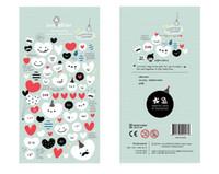 Wholesale Korean Diary Stickers - Wholesale- 1 PCS The Balloon of Love Korean Sonia Stickers Cellphone Decal Diary Calendar Decorative Sticker Flakes 1015