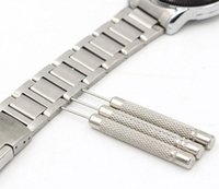 Wholesale Stainless Steel Punch - 30pcs  lots High quality Stainless Steel Watch for Band Bracelet Steel Punch Link Pin Remover Repair Tool 0.7 0.8 0.9 1.0mm New glitter2008
