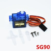 Wholesale Rc Voltage Regulator - Wholesale- 1PCS 9g micro servo for airplane aeroplane 6CH rc helcopter kds esky align helicopter sg90