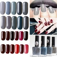 Wholesale Cheap Nail Paints - Wholesale- Hot Sale Matte Nailpolish Fashion Cheap Brand Gray Paint Quickly Dry Gel Polish Vanish Lacquer Nails Beauty