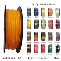 Wholesale PLA mm Filament KG Roll D Printer Filament Plastic Rubber Consumables Material d Printer For industrial medical education Material