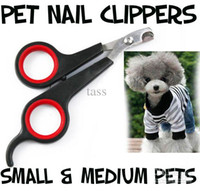 Pet Dog Cat Care Nail Clipper Scissors Grooming Trimmer Fournitures pour animaux de compagnie Livraison gratuite