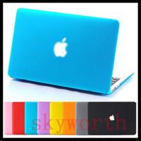 porzellan netbook laptop großhandel-Anti-Glare Matte Front + Rückseite Hartschalenetui für MacBook Pro 13.3