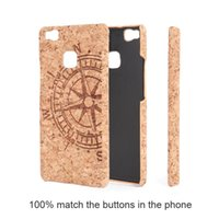 Wholesale Crash Plastic - U&I ®Anti-crash Cell phone case for Huawei P9 lite Natural wood and Superior PC Hard Back Phone cover